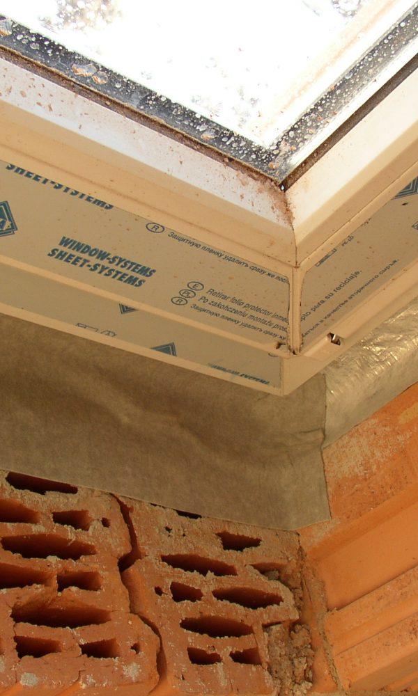 Passzívház ablakok beépítése 4. rész