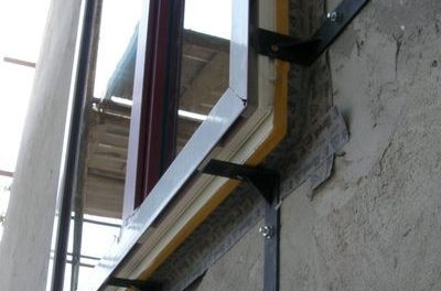 Konzolos ablakbeépítés